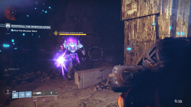 The Inverted Spire - Destiny 2 Nightfall Solo Guide